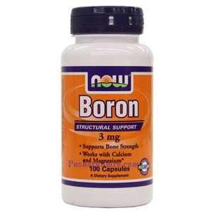 Picture of Now Foods Boron 3 mg 100 Capsules
