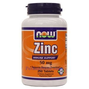 Picture of Now Foods Zinc 50mg 250 Tablets