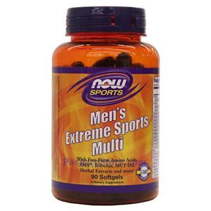 Picture of Now Foods Men's Extreme Sports Multi 90 Softgels