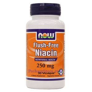 Picture of Now Foods Flush-Free Niacin (B-3) 250 mg 90 Veg Capsules
