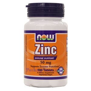 Picture of Now Zinc 50 mg 100 Tablets