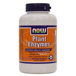 Picture of Now Foods Plant Enzymes 240 Veg Capsules