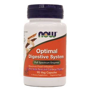 Picture of Now Foods Optimal Digestive System 90 Veg Capsules