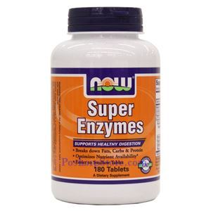 Picture of Now Foods Super Enzymes 180 Tablets