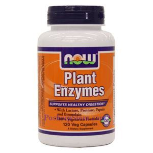 Picture of Now Foods Plant Enzymes 120 Veg Capsules