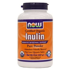 Picture of Now Foods Certified Organic Inulin Pure Powder 8 oz
