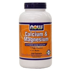 Picture of Now Foods Calcium & Magnesium 250 Tablets