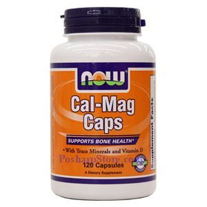 Picture of Now Foods Cal-Mag Caps 120 Capsules