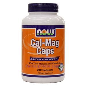 Picture of Now Foods Cal-Mag Caps 240 Capsules