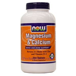 Picture of Now Foods Magnesium & Calcium  250 Tablets