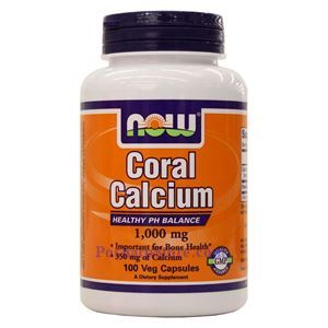 Picture of Now Foods Coral Calcium 1,000mg 100 Veg Capsules