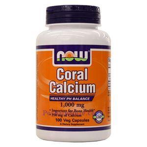 图片 Now Foods牌珊瑚钙素食胶囊 1000毫克 100粒