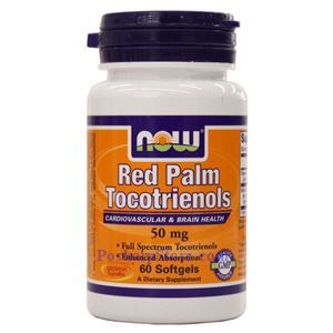 Picture of Now Foods Red Palm Tocotrienols 50 mg 60 Softgels