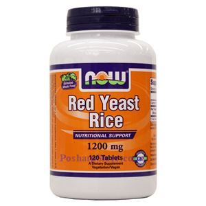 Picture of Now Foods Red Yeast Rice 1200mg 120 Tablets