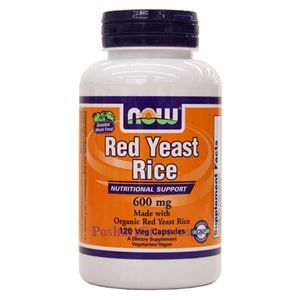 Picture of Now Foods Red Yeast Rice 600 mg 120 Veg Capsules