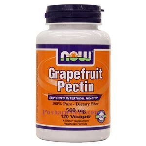 Picture of Now Foods Grapefruit  Pectin 500mg 120 Veg Capsules