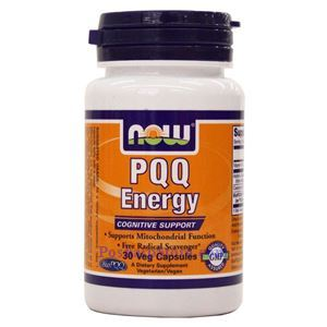 Picture of Now Foods PQQ Energy 30 Veg Capsules