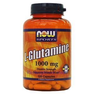 Picture of Now Foods L-Glutamine 1000mg 120 Capsules