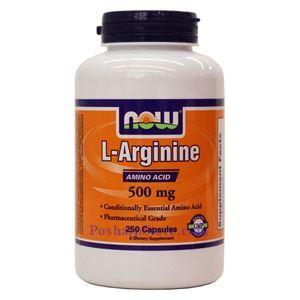 Picture of Now Foods L-Arginine 500mg 250 Capsules