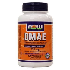 Picture of Now Foods DMAE 250mg 100 Veg Capsules