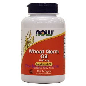 Picture of Now Foods Wheat Germ Oil 100 Softgels