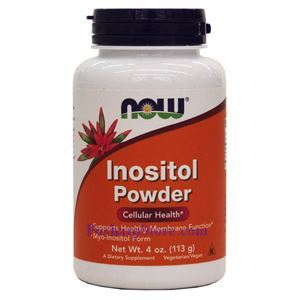 Picture of Now Foods Inositol Powder Vegetarian 4 oz