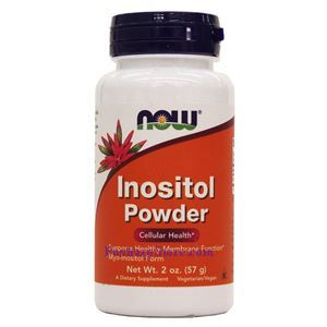 Picture of Now Foods Inositol Powder Vegetarian 2 oz