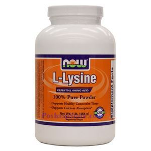 Picture of Now Foods L-Lysine Powder 1 lb
