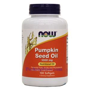 Picture of Now Foods Pumpkin Seed Oil 1000mg 100 Softgels