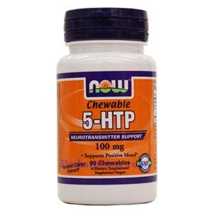 Picture of Now Foods 5-HTP 100mg 90 Chewables