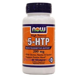 Picture of Now Foods 5-HTP 200mg 60 Capsules