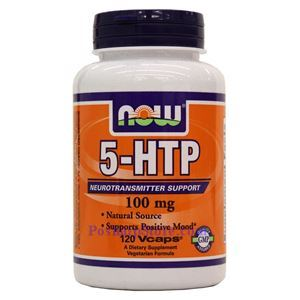 Picture of Now Foods 5-HTP 100mg 120 Capsules