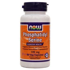 Picture of Now Foods Phosphatidyl Serine 100 mg 60 Veg Capsules