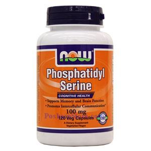 Picture of Now Foods Phosphatidyl Serine 100 mg 120 Veg Capsules