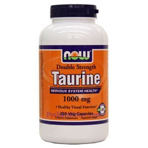 Picture of Now Foods Taurine 1000mg 250 Capsules