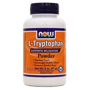 Picture of Now Foods L-Tryptophan Powder 2 oz