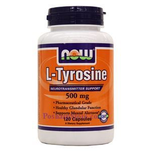 Picture of Now Foods L-Tyrosine 500mg 120 Capsules