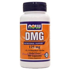 Picture of Now Foods DMG 125mg 100 Capsules
