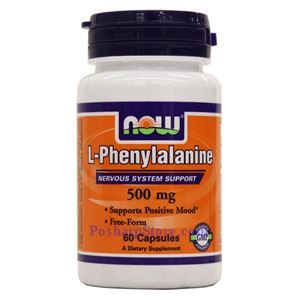 Picture of Now Foods L-Phenylalanine 500mg  60 Capsules