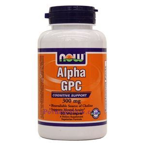 Picture of Now Foods Alpha GPC 300mg 60 Veg Capsules