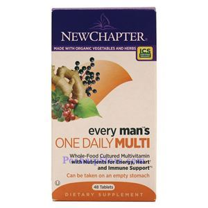 Picture of New Chapter Every Man's One Daily Multivitamin 48 Tablets