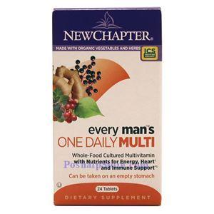 图片 New Chapter新章牌男人一日一粒复合维生素片 24粒