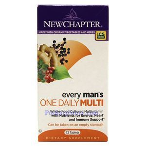 Picture of New Chapter Every Man's One Daily Multivitamin 72 Tablets
