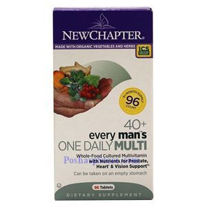 Picture of New Chapter Every 40+ Man's One Daily Multivitamin 96 Tablets