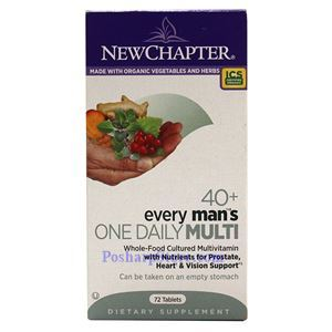 Picture of New Chapter Every 40+ Man's One Daily Multivitamin 72 Tablets