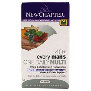 Picture of New Chapter Every 40+ Man's One Daily Multivitamin 24 Tablets