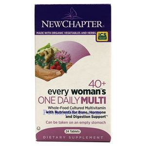 Picture of New Chapter Every 40+ Woman's One Daily Multivitamin 24 Tablets