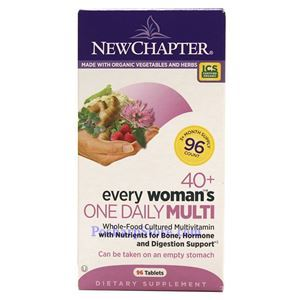 Picture of New Chapter Every 40+ Woman's One Daily Multivitamin 96 Tablets