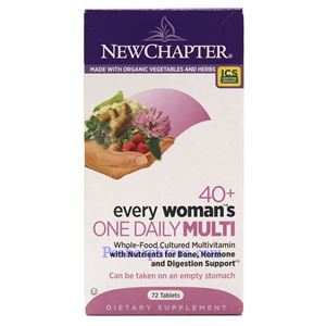 Picture of New Chapter Every 40+ Woman's One Daily Multivitamin 72 Tablets