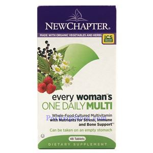 Picture of New Chapter Every Woman's One Daily Multivitamin 48 Tablets